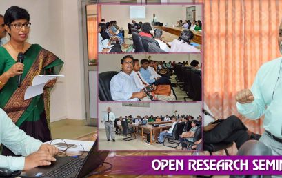 Open Research Seminar – March 2017