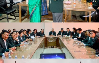 The students of King Prajadhipok's Institute on Development on Democracy and Governance visited the FGS