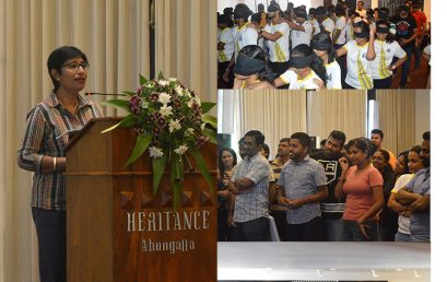 Master of Business Studies 2018 Outbound Training at Heritance Ahungalla