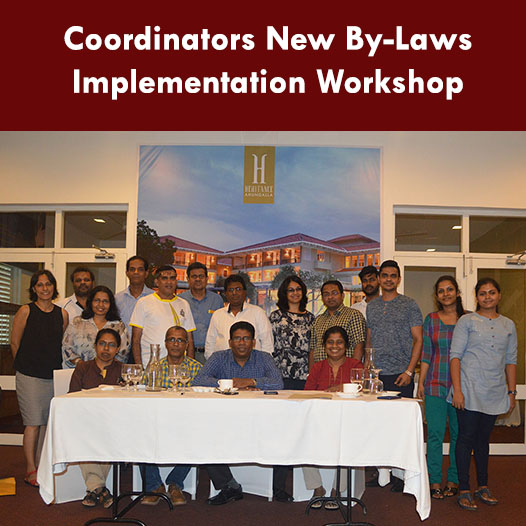 Coordinators New By-Laws Implementation Workshop
