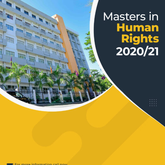 Master in Human Rights – MHR 2020/21