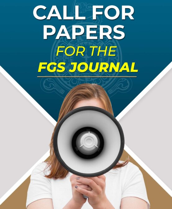 Call for papers for the FGS Journal