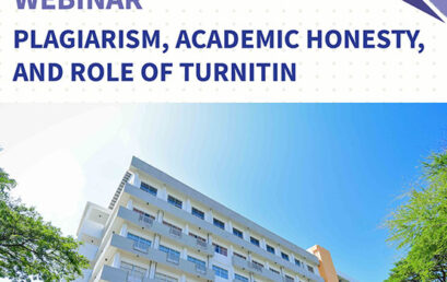 Webinar – Plagiarism, academic honesty, and role of turnitin